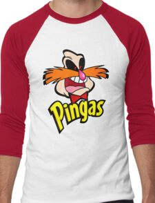 PINGAS : PARODY Men's Baseball ¾ T-Shirt