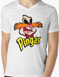PINGAS : PARODY Mens V-Neck T-Shirt