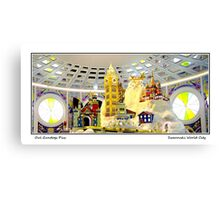 Swarovski World City Canvas Print