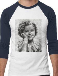 Shirley Temple by MB Men's Baseball ¾ T-Shirt