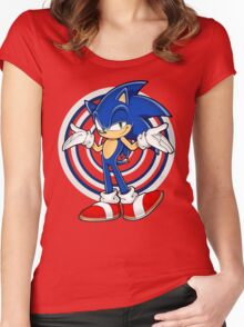 SONIC : WHAT YOUR PROBLEM? Women's Fitted Scoop T-Shirt