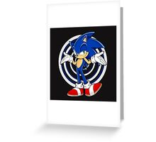 SONIC : WHAT YOUR PROBLEM? Greeting Card