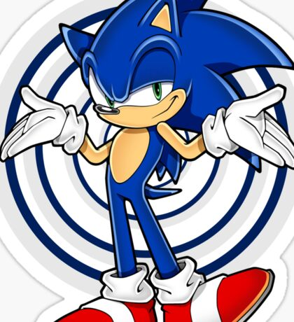 SONIC : WHAT YOUR PROBLEM? Sticker