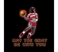 May The GOAT Be With You! Photographic Print