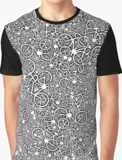 Tangled Up In Bicycles Graphic T-Shirt