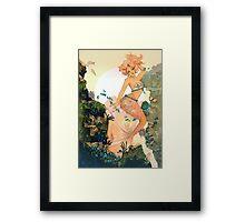 Rose Mermaid Framed Print