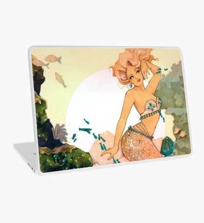 Rose Mermaid Laptop Skin