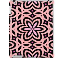 Pink and Black Floral Graphic - 1 of 2 (please see notes) iPad Case/Skin