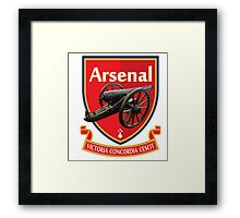 The Gunners Cannon  Framed Print