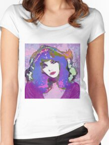 Painted Kate Women's Fitted Scoop T-Shirt