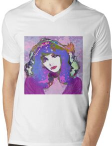 Painted Kate Mens V-Neck T-Shirt