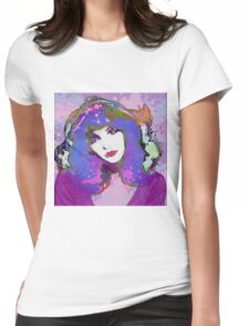 Painted Kate Womens Fitted T-Shirt