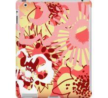 Red Floral Colour Splash Version 1 (see description) iPad Case/Skin