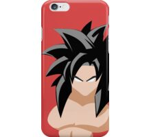 Goku Super Saiyan 4 iPhone Case/Skin