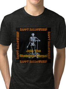 Join The Skeleton Corps Tri-blend T-Shirt
