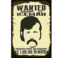 Serial Killer Wanted Iceman Photographic Print