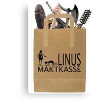 Linus Maktkasse Canvas Print