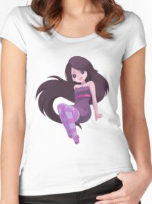 marcy anime style  Women's Fitted Scoop T-Shirt