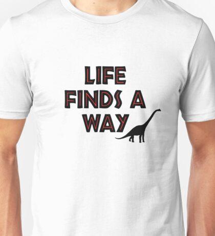 Jurassic Park - Life Finds a Way Unisex T-Shirt