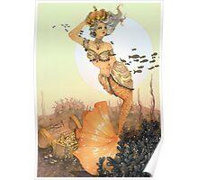 The queen mermaid Poster