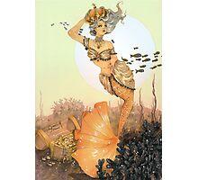 The queen mermaid Photographic Print