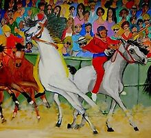 Il Palio di Siena by Rusty  Gladdish