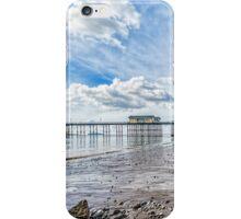 Penarth Pier Morning Light 2 iPhone Case/Skin