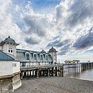Penarth Pier Morning Light 3 by Steve Purnell