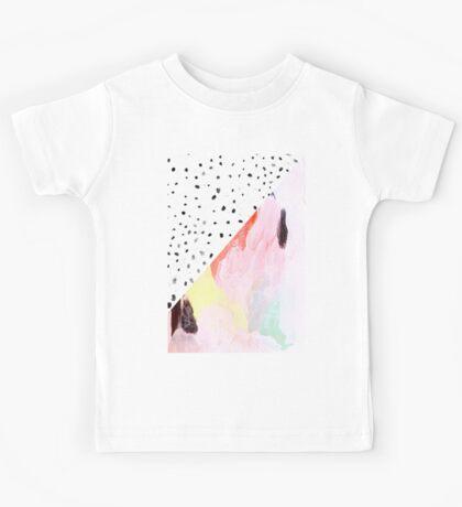 Polka Dots & Paint Kids Tee