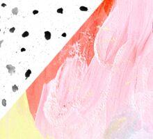 Polka Dots & Paint Sticker