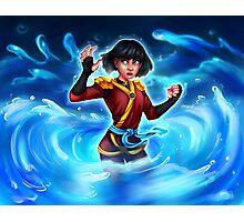 Water Ninja Photographic Print