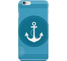 Trendy Nautical Stripe Design iPhone Case/Skin