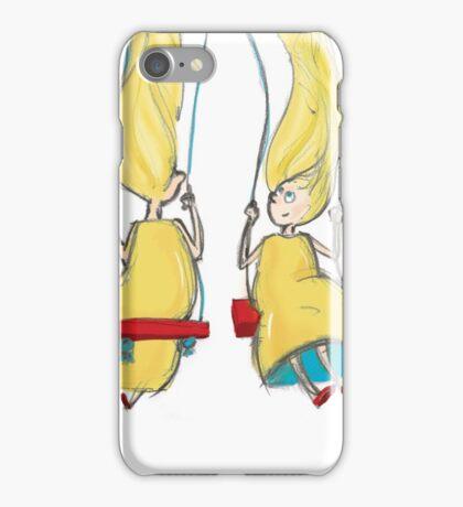 Twin Girls iPhone Case/Skin