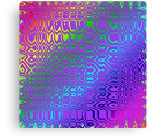 Color in Abstract Canvas Print