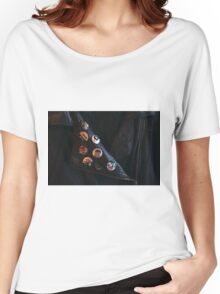Custom Leather Women's Relaxed Fit T-Shirt