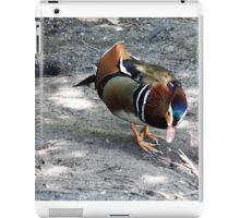 """ Walking through the woods, came across this chap"" iPad Case/Skin"