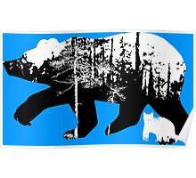 Bear Habitat Poster