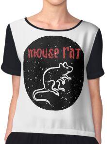 Mouse Rat  Chiffon Top