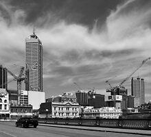 Horseshoe Bridge - Perth by Paul Gilbert