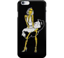 Skeleton Marilyn Monroe iPhone Case/Skin