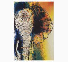 Elephant Ink One Piece - Short Sleeve