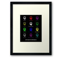 Everyone is the same  Framed Print