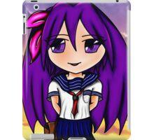 chibi schoolgirl iPad Case/Skin