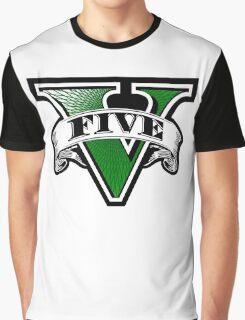 GTA 5Five Graphic T-Shirt
