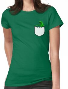 Pocket dat boi Womens Fitted T-Shirt