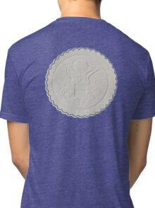 Great Seal, United States, America, American, Stamp, Seal, Emboss, approve Tri-blend T-Shirt