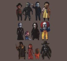 Icons of Horror Baby Tee