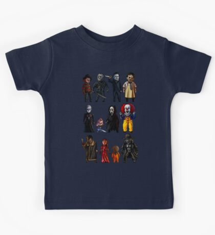 Icons of Horror Kids Tee