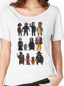 Icons of Horror Women's Relaxed Fit T-Shirt