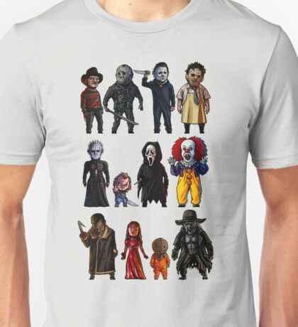 Icons of Horror Unisex T-Shirt